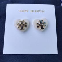 Tory Burch heart earrings - $29.99