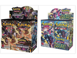 Pokemon TCG Sun Moon Forbidden Light + Ancient Origins Booster Box Card Game - $219.99