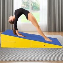 Women Aerobic Folding Incline Mat Slope Yoga Gymnastic Gym Floor Exercis... - $3.024,80 MXN