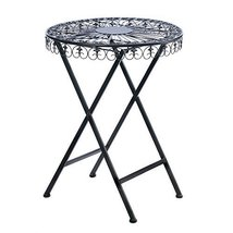 Home Locomotion Fleur-De-Lis Patio Table - £73.11 GBP