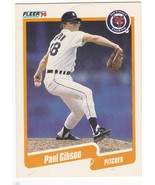 #602 Paul Gibson 1990 Fleer Main Set - $0.00