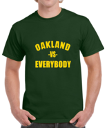 Oakland Vs Everybody Fan Supporter Baseball T Shirt - $20.99+