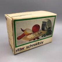 Vintage Ritter Schneidboy Mincer Empty Box Packaging Advertising - $4.94