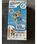 SwimSchool Deluxe Tot BLUE  Inflatable Swim Trainer Float Level 2 ( 2-4 ... - £14.54 GBP