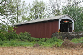 Lime Valley Covered Bridge 13 x 19 Unmatted Photograph - $35.00
