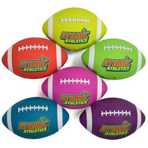 6 Youth Size Neon Footballs - $46.43