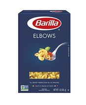 Barilla Pasta, Elbows, 16 Ounce Pack of 8