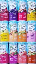 Crystal Light Pitcher Packs Drink Mix Variety Bundle of 12 Different Flavors