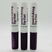 3-Pack Bath & Body Works Nourishing Lip Tint Royal Plum 0.06 oz Sealed - $19.75