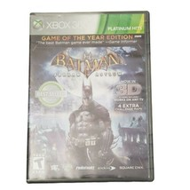 Microsoft Xbox 360 Batman: Arkham Asylum Game of the Yr Platinum Hits Vi... - $11.64