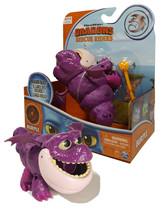 """Dreamworks Dragons Rescue Riders Burple Boulder Blast 6"""" Figure New in Box - $24.88"""