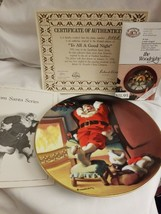 "E.J. Knowles 1991 ""To All a Good Night"" Sundblom Santa Series Collector ... - $8.66"
