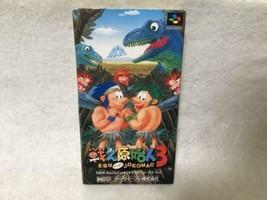 Fighting Primitive Man 3 Super Nintendo - $537.65