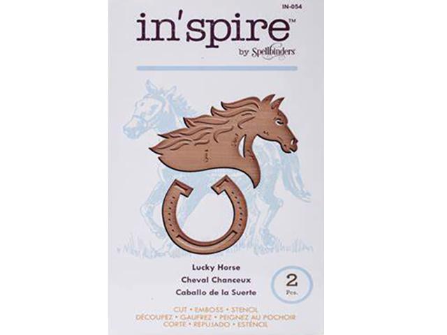In'spire by Spellbinders Luck Horse Die Set #IN-054