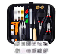 Jewelry Making Supplies Kit Jewelry Tools Jewelry Wire Jewelry Findings ... - $38.99