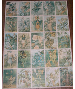 Cicely Mary Barker Poster With 25 Fairies by Rainbow Designs, Printed in... - $42.22
