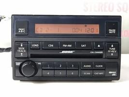 05 06 NISSAN Bose ALTIMA RADIO 6 CD Changer 28185-ZB20B  NI703 - $90.25