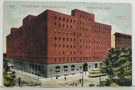 Butler Bros' Wholesale House 1908 Minneapolis Minnesota Postcard P4 - $14.95