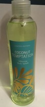 Victoria's Secret Coconut Temptation Silkening Body Splash Spray 8 OZ Ra... - $15.83