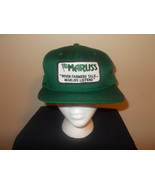 VTG-1970s Marliss planting equipment farming agriculture green snapback ... - $27.83