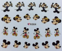 BANG STORE Nail Art 3D Decal Stickers Mouse Man mick boy FUNNY CUTE - $3.15