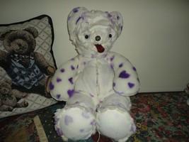 One of a Kind PLUS ART CREATURE BEAR Inside Out Furry Fabric RARE - $67.54