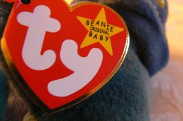 "Vintage Ty Beanie Babies Rainbow "" The Chameleon "" Hang Tag/Tush Tag 1997 Errors image 5"