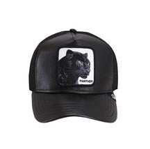 Goorin Bros Mesh Cap Animal Farm Truth Will Prevail Black Panther Trucker Hat image 2