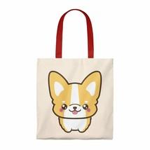 Tote bag Corgi tote bag for grocery shopping Women tote bag Reusable grocery bag - £14.62 GBP