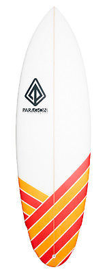 "Paragon Hobgoblin 5'10"" Red-Orange Surfboard"