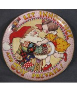 LET INNOCENCE AND JOY PREVAIL Collector Plate A Mary Engelbreit Christma... - $17.95