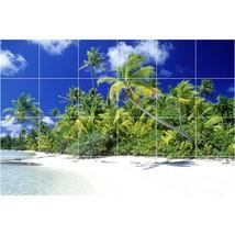 Beach Photo Tile Murals BZ30022. Kitchen Backsplash Bathroom Shower Wall Murals - $240.00+