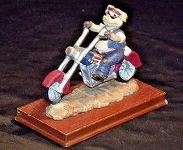 HOG Motorcycle Statue Figurine Replica 305-CVintage image 4
