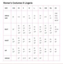 Leg Avenue Hello Kitty Cómodo Kawaii Vestido Adulto Mujer Disfraz Halloween image 4