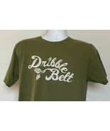 Russian River Brewing Dribble Belt Beer T Shirt Mens Large Green Cotton - $21.73