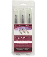 Studio Series Aqua Brushes (3 brush tips) [Hardcover] Peter Pauper Press - $12.97