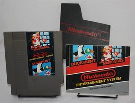 Super Mario Bros Duck Hunt Nintendo NES With Dust Cover & Instructions - $14.50