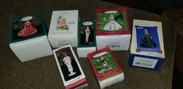 HALLMARK KEEPSAKE Barbie and fairytopia ornaments lot of 7 - $22.76