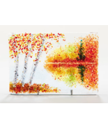 Fall Reflections - Right Side 4x6 - $38.00