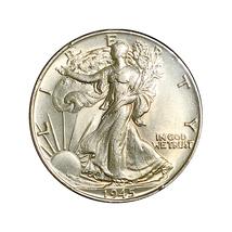 1945 P Walking Liberty Half Dollar - Choice BU / MS / UNC - $33.45