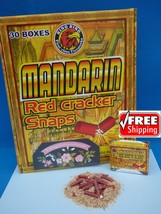 300 Adult Party Poppers (15 Boxes!) Mandarin Red Snaps SUPER LOUD! Adult... - $29.99