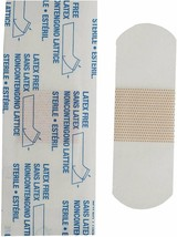 """Clear Bandages Pack Of 100 Adhesive Bandages 1"""" x 3"""" For Wound Care - $10.48"""