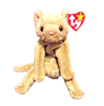 TY Beanie Baby Collection Scat The Kitten Cat Brown Toy RETIRED 1999 - $3.96