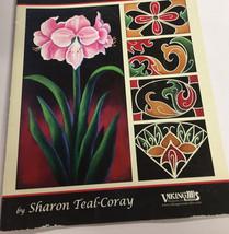 Viking Woodcrafts Seasonal Tapestries Painting Book Sharon Teal Coray 20... - $14.82