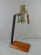 Vintage Estate Brass Table Top Wine Bottle Opener  - $148.50
