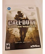 Call of Duty: Modern Warfare Reflex Edition - Nintendo Wii Game - Complete - $8.90