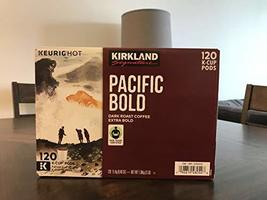 Kirkland Signature Pacific Bold K-cup, 120 Count - $55.43