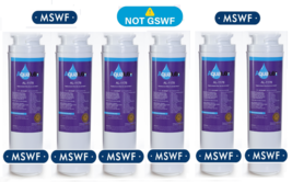 Refrigerator Water Filter, Fits GE MSWF (Not GSWF) 101820A, 101821B, 101... - $11.64+