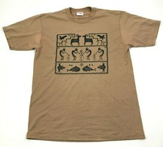 VINTAGE Shades Of The Southwest Shirt Size Large Brown Short Sleeve Tee ... - $17.83