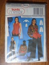 Burda Couture Sewing Pattern 3856 Size 6-18 UNCUT Ladies Evening Coordin... - $9.68